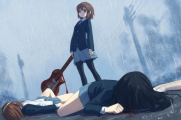 This would have been a more creative ending, but still just a ripoff of School Days