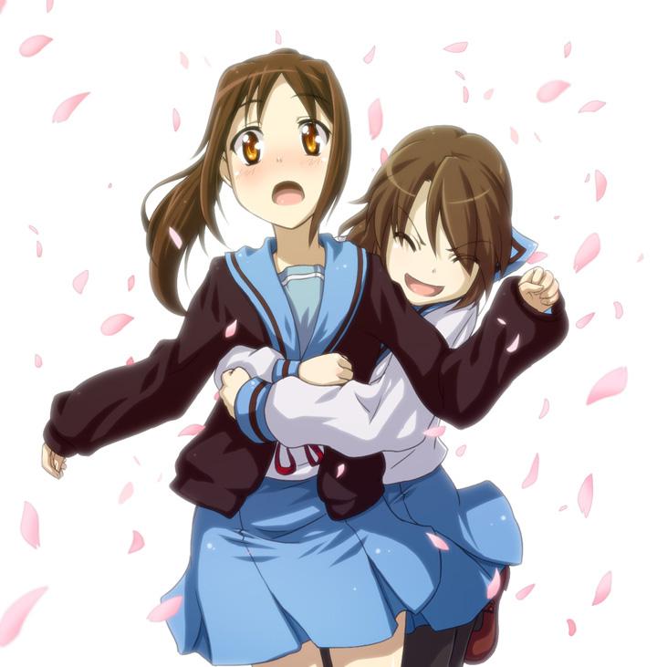 A hug... how embarrassing! Uguu~