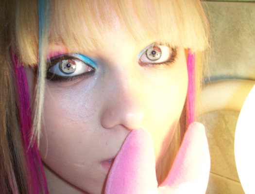 Hello Kitty contacts? Are you serious?