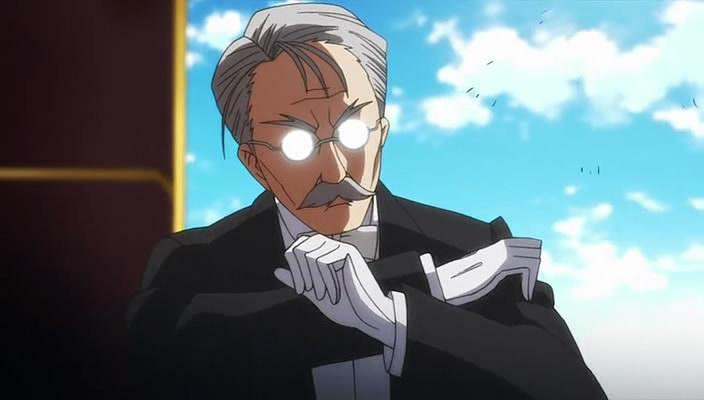 A butler's life!