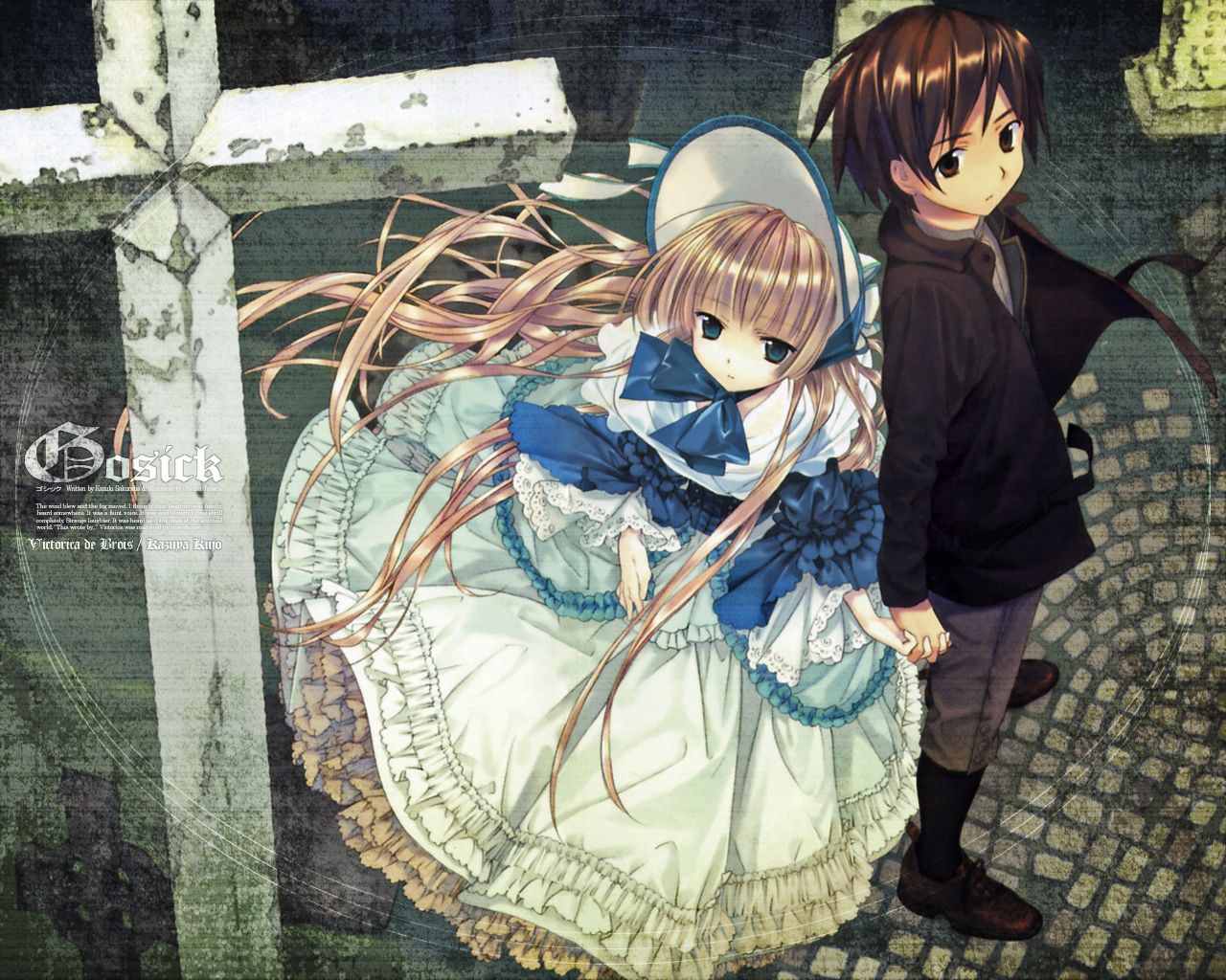 ... gosick had a couple things going for it already and i really did