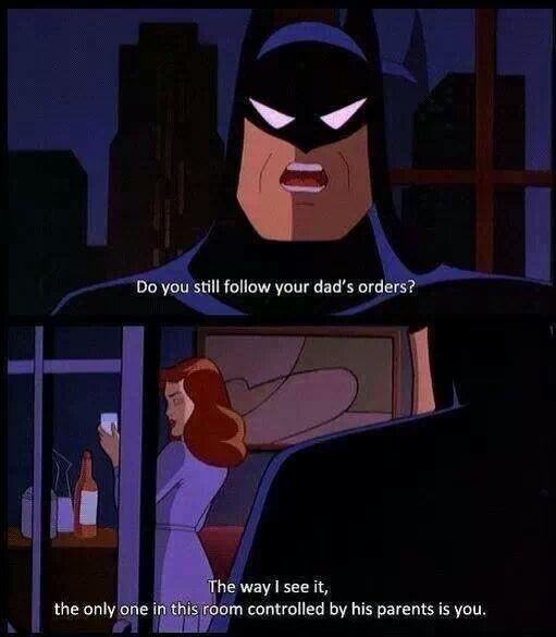 batman gets burned