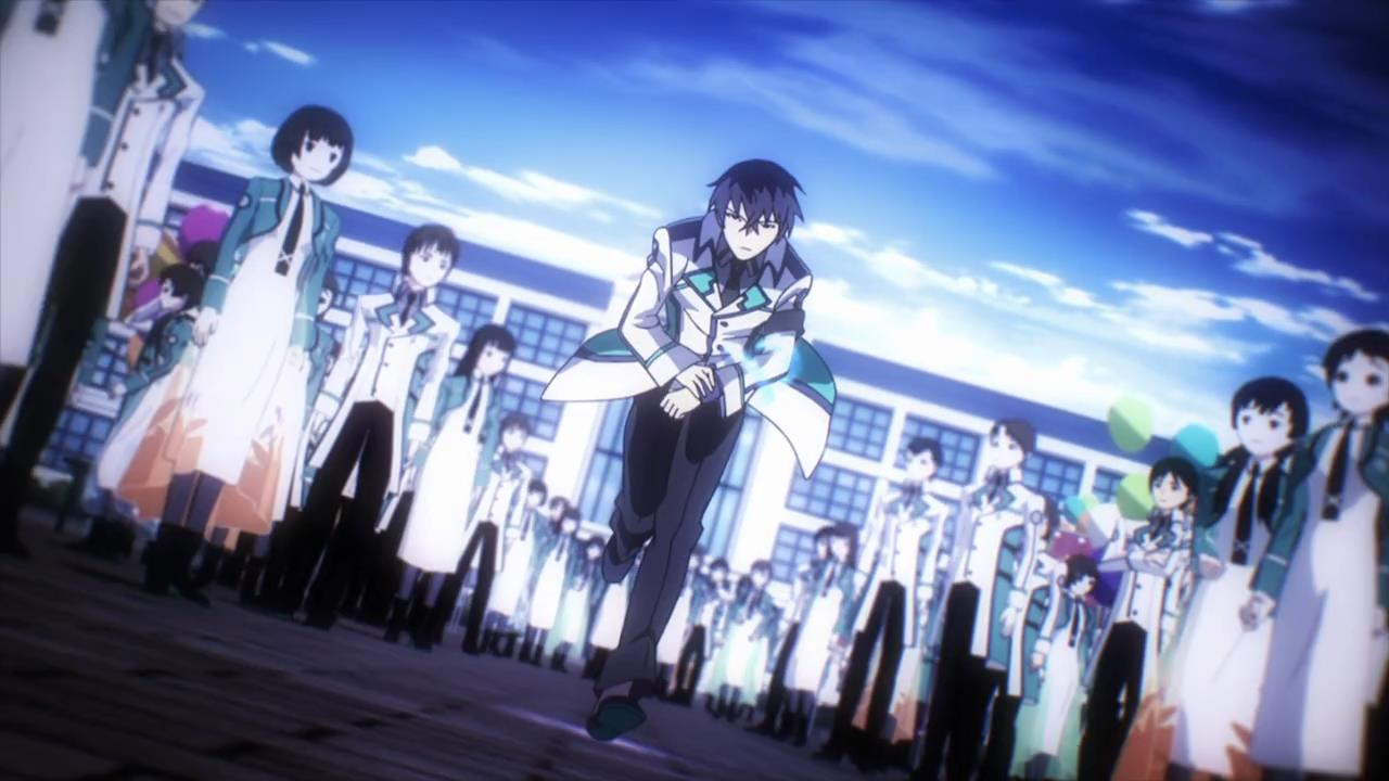 Mahouka Koukou No Rettousei Ep 3 Too Cool For School Moe Sucks