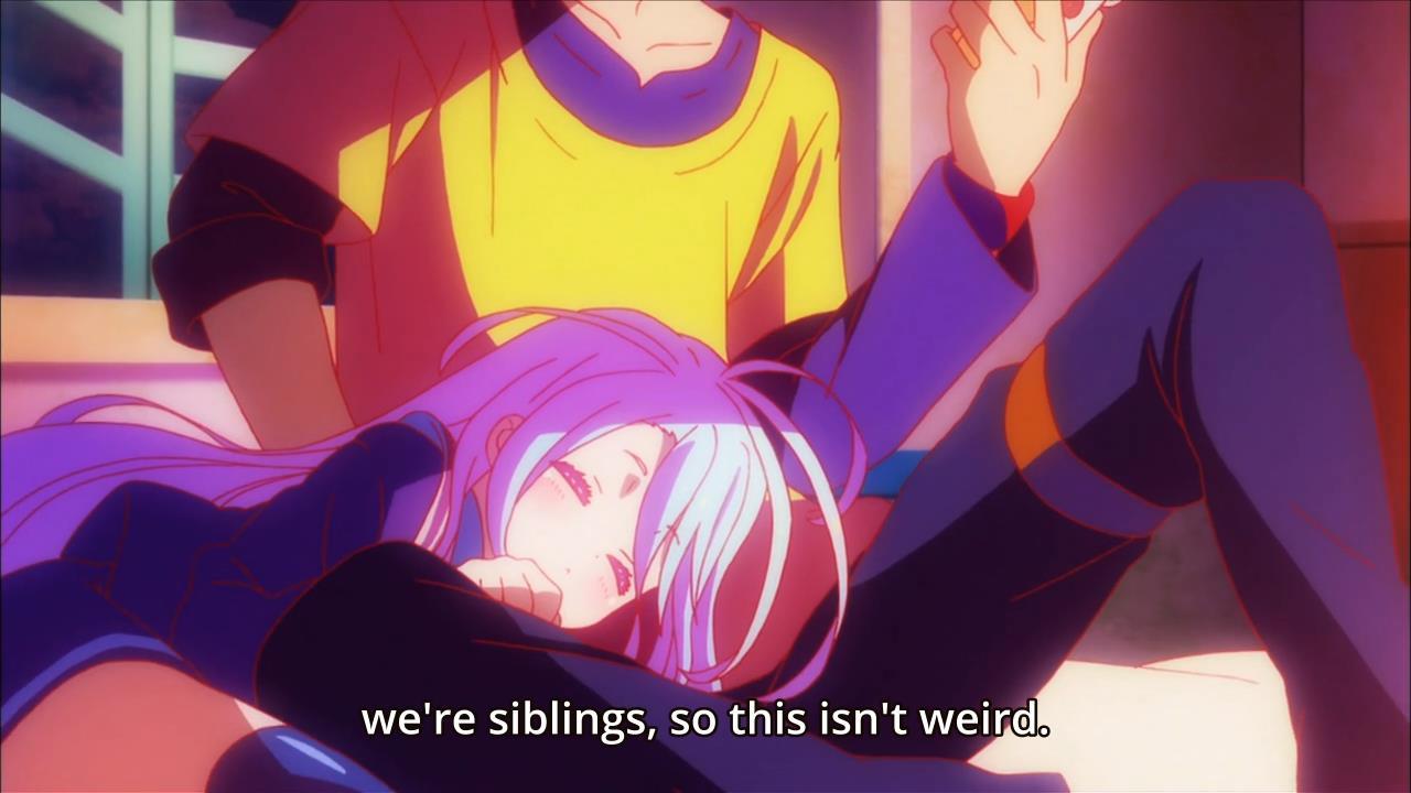 no game life shiro and sora relationship advice