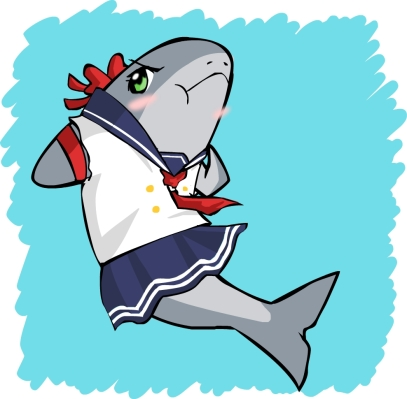 schoolgirl shark