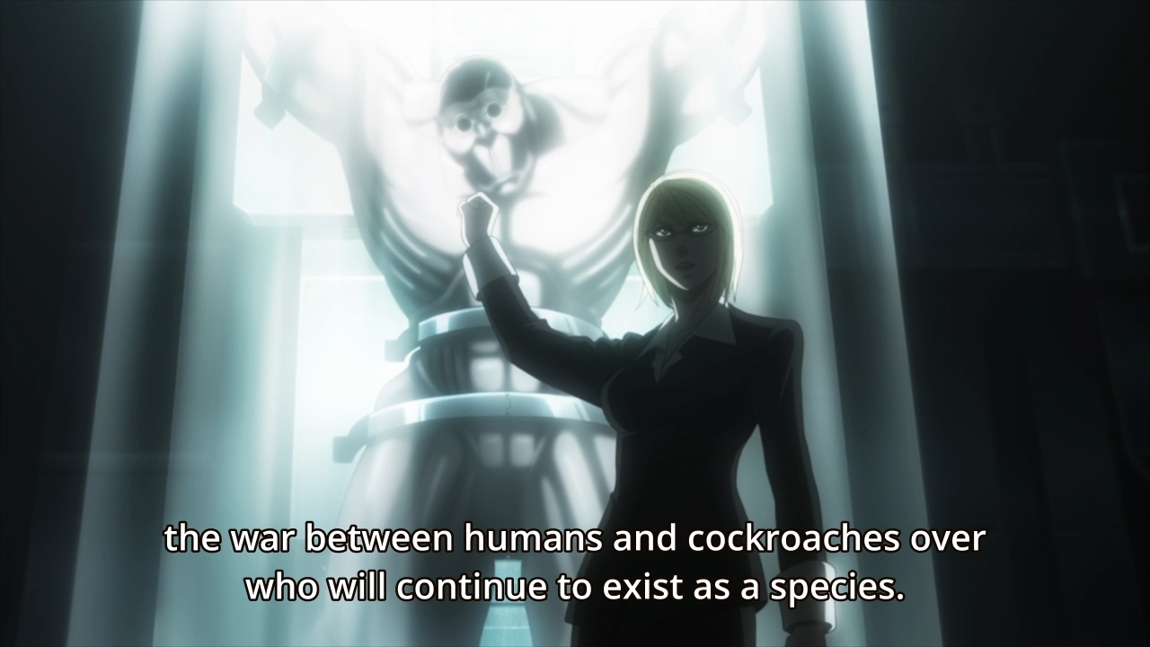 terra formars ep when raid just can t get the job done moe sucks terra formars 0102