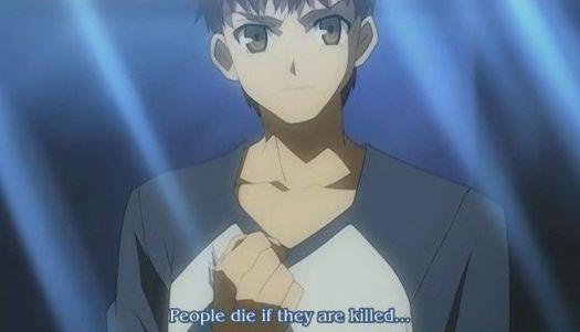 people die