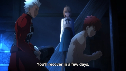 Fate Stay Night - Unlimited Blade Works - 1109