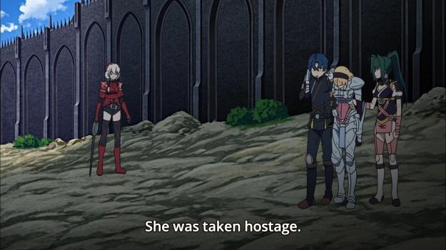 Hitsugi no Chaika - Avenging Battle 0908