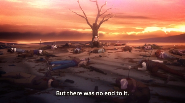 Fate Stay Night - Unlimited Blade Works - 1910