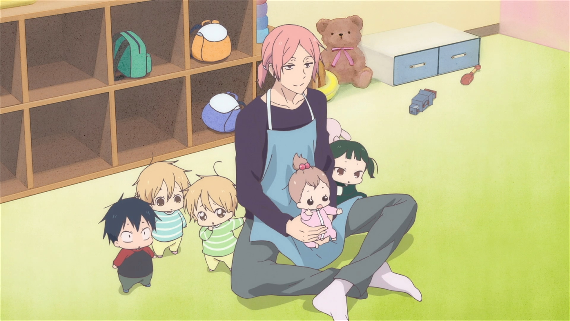 Gakuen Babysitters Ep 1 God I Never Want Kids Moe Sucks